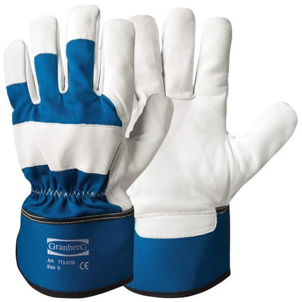Klassisk handske tillverkad i getskinn