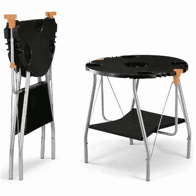 ihopfällbart bord till o-grill portabel grill
