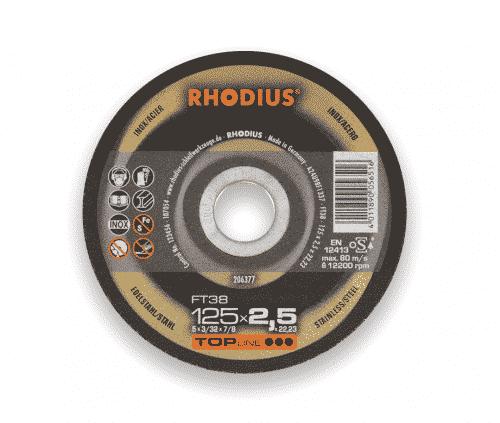 Kapskivor rhodius ft 38