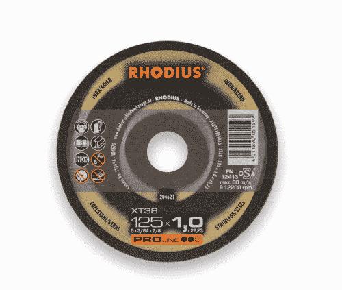 Kapskiva Rhodius Xt38