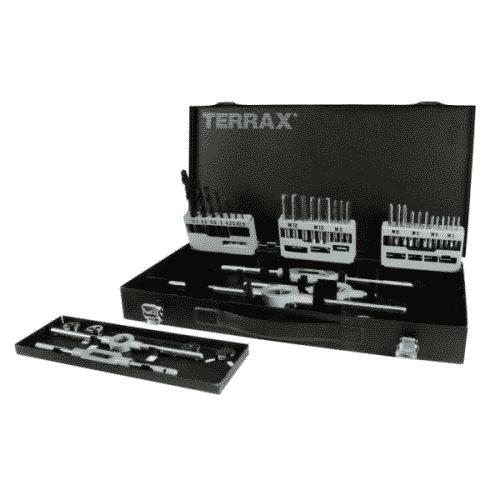 Borr- och gängverktygssats M3-M12 44 delar