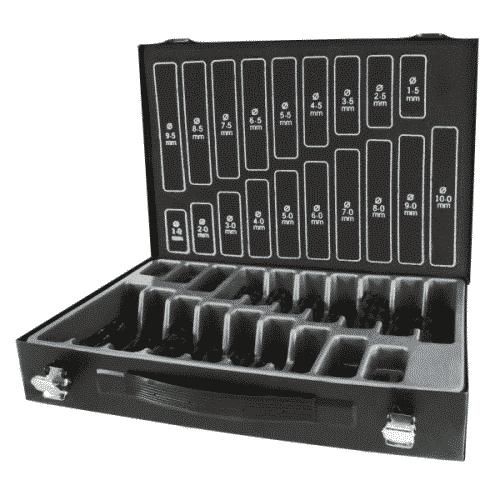 Borrlåda med 170 stycken 1-10 mm. borr
