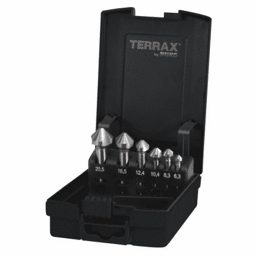 Försänkarsats Terrax 6,3-20,5 mm
