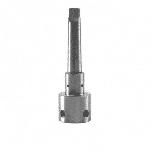 Kärnborradapter Weldon till MK3 för användning av kärnborr med Weldonanslutning i magnetborrmaskiner, pelarborrmaskiner eller svarvar
