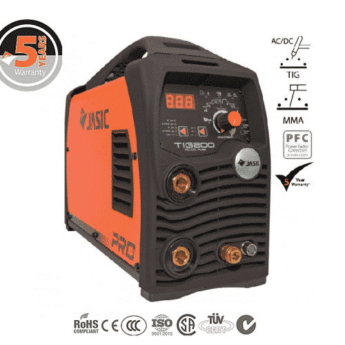 Tigsvets Jasic pro tig 200AC/DC plus mini digital